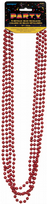 Red Metallic Beads (4)
